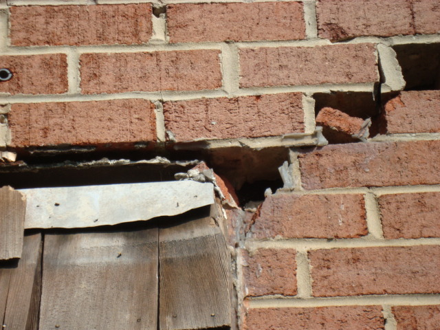 Brick Wall Failure